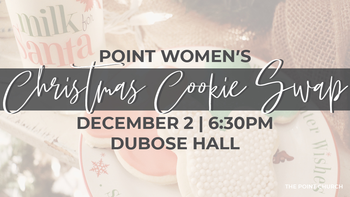 Point Women's Christmas Cookie Swap